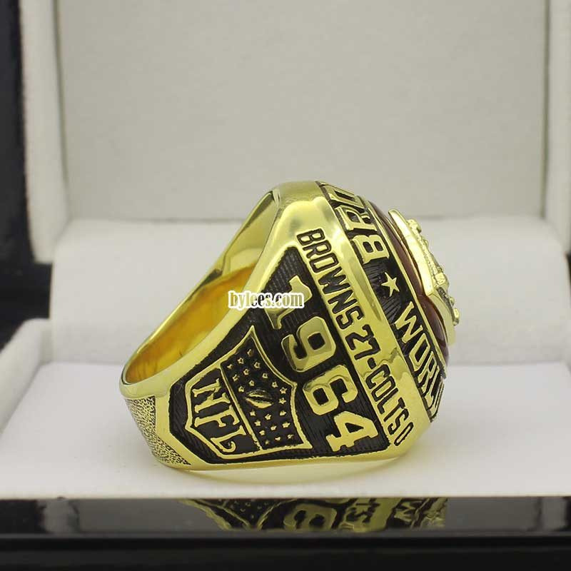 Cleveland Browns NFL championship ring 1964
