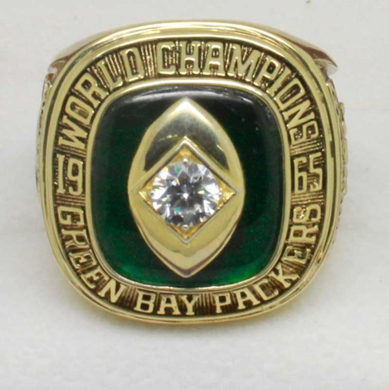 green bay packers ring (1965)
