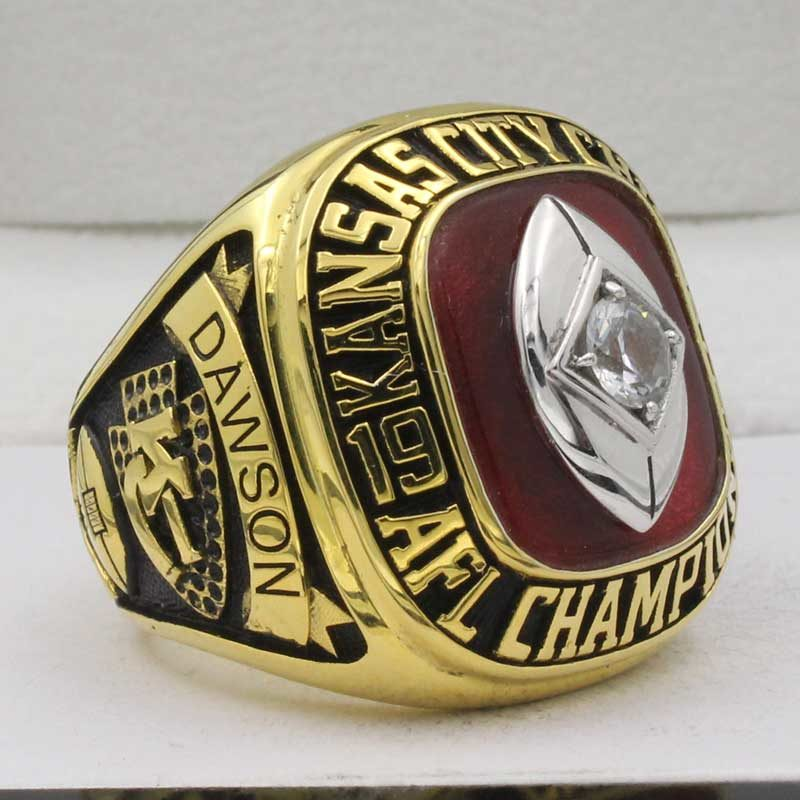 1966 Kansas City Chiefs AFL Championship Ring
