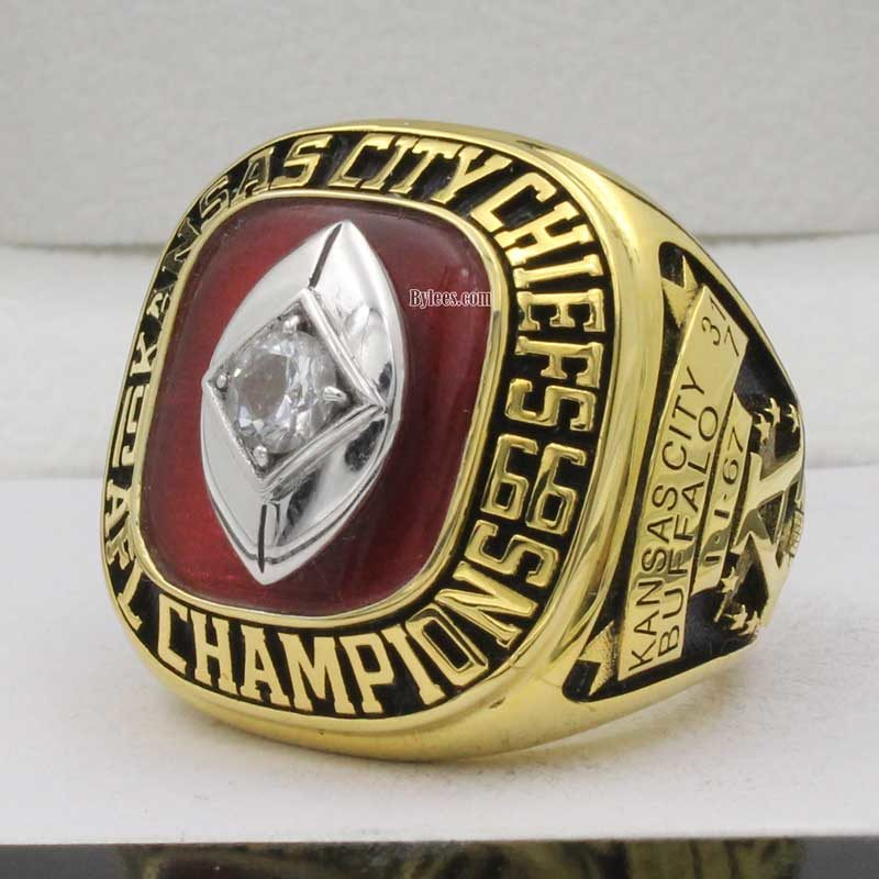 Kansas City Chiefs Championship Ring 1966