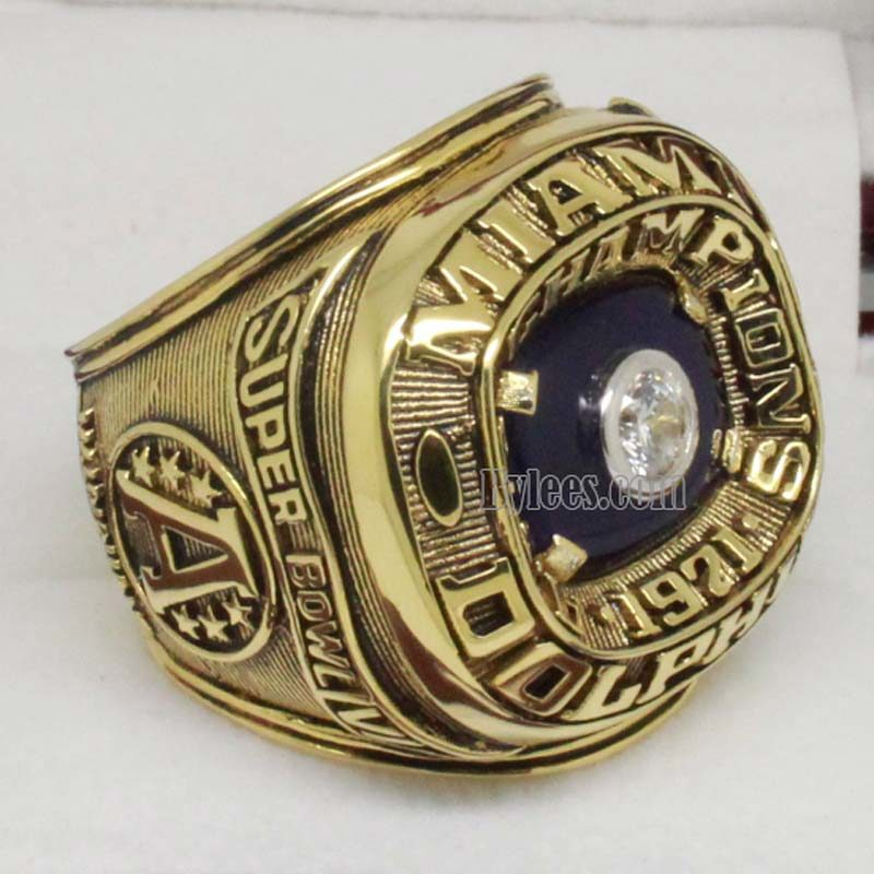 1971 Miami Dolphins afc Championship Ring