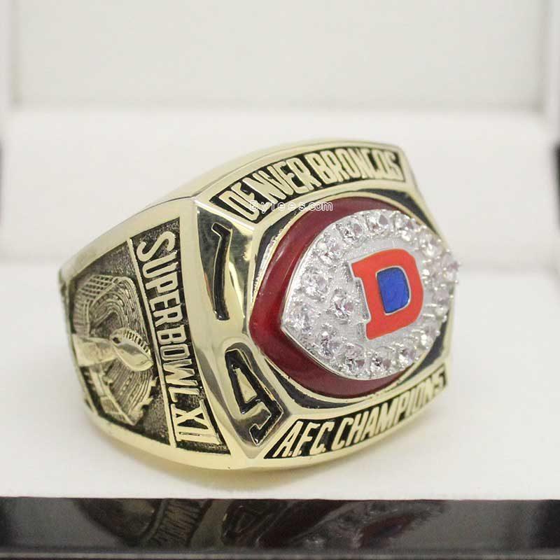 Denver Broncos 1977 Championship Ring