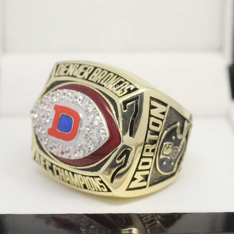 Denver Broncos Championship Ring 1977