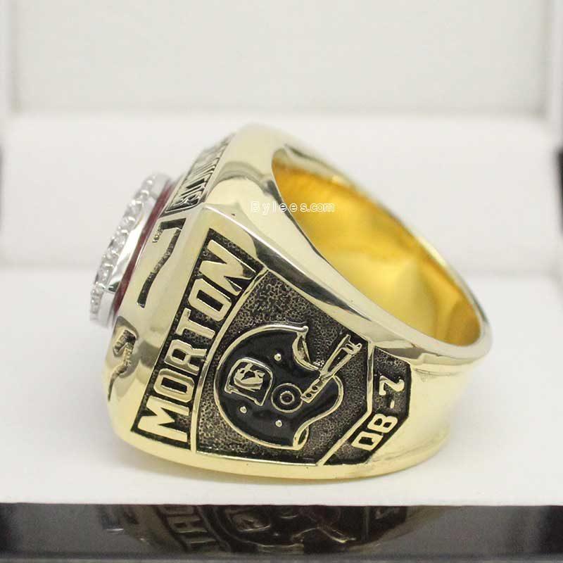 Broncos Championship Ring 1977