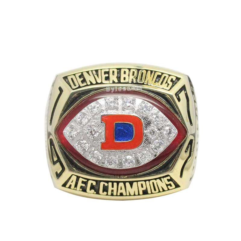 1977 afc Championship Ring