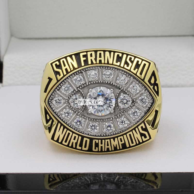 San Francisco 49ers 1981 Super Bowl Ring