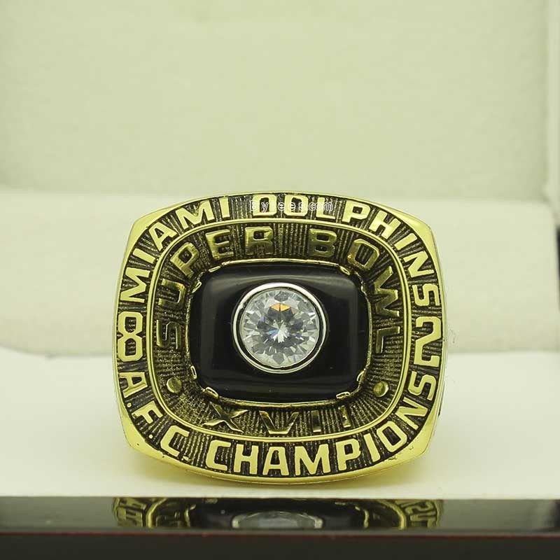 1982 Miami Dolphins Championship Ring