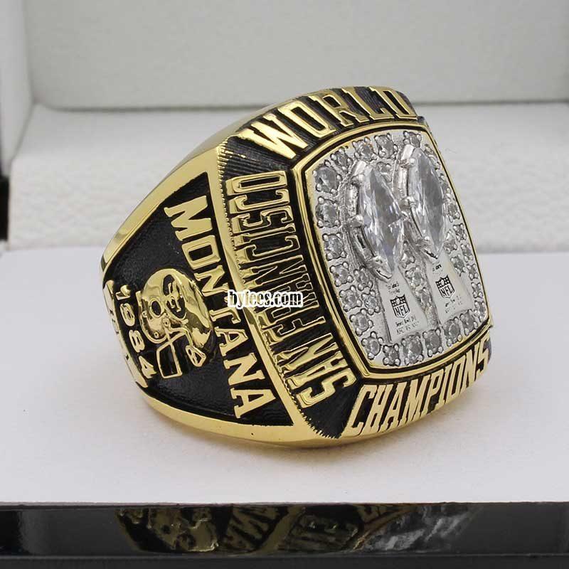 San Francisco 49ers Super Bowl XIX Ring