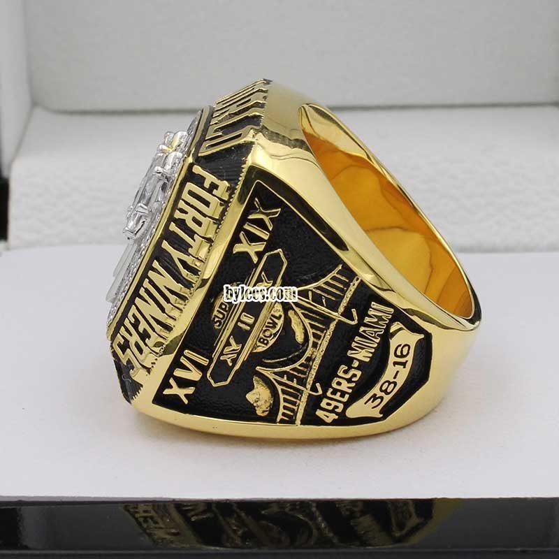 1984 San Francisco 49ers Super Bowl XIX Championship Ring