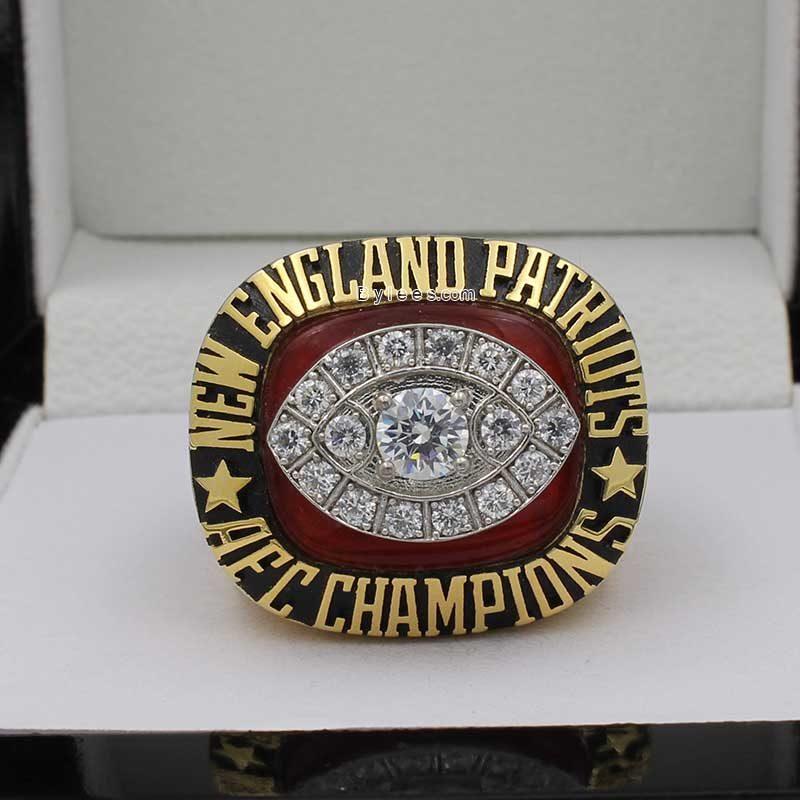 1985 New England Patriots American Football Championship Ring