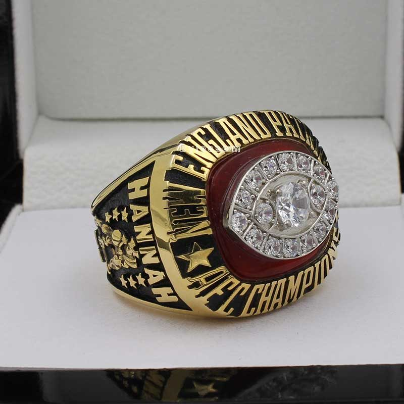 New England Patriots 1985 Championship Ring