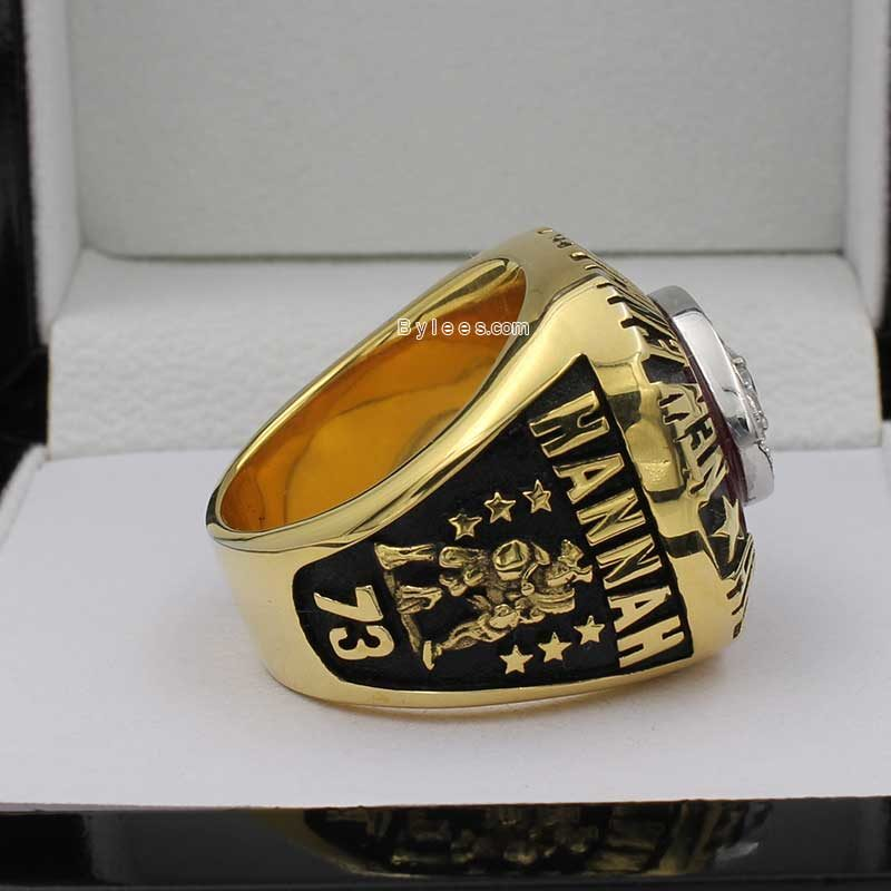 1985 New England Patriots Championship Ring