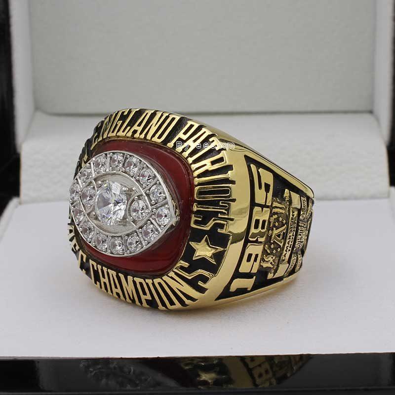 1985 New England Patriots afc Championship Ring