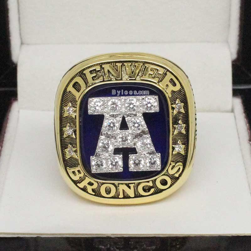 1986 Denver Broncos afc Championship Ring