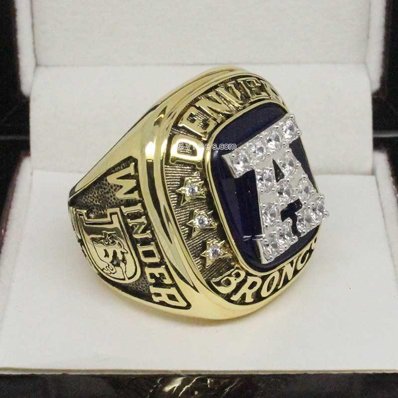 Denver Broncos 1986 Championship Ring