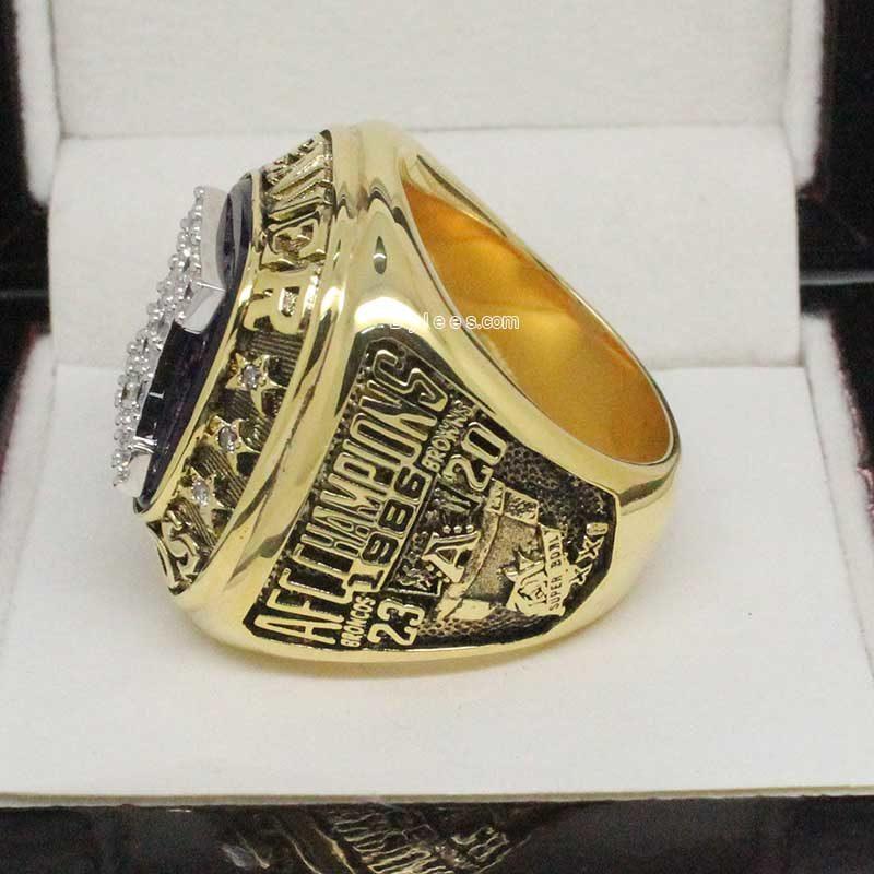 Denver Broncos Championship Ring 1986