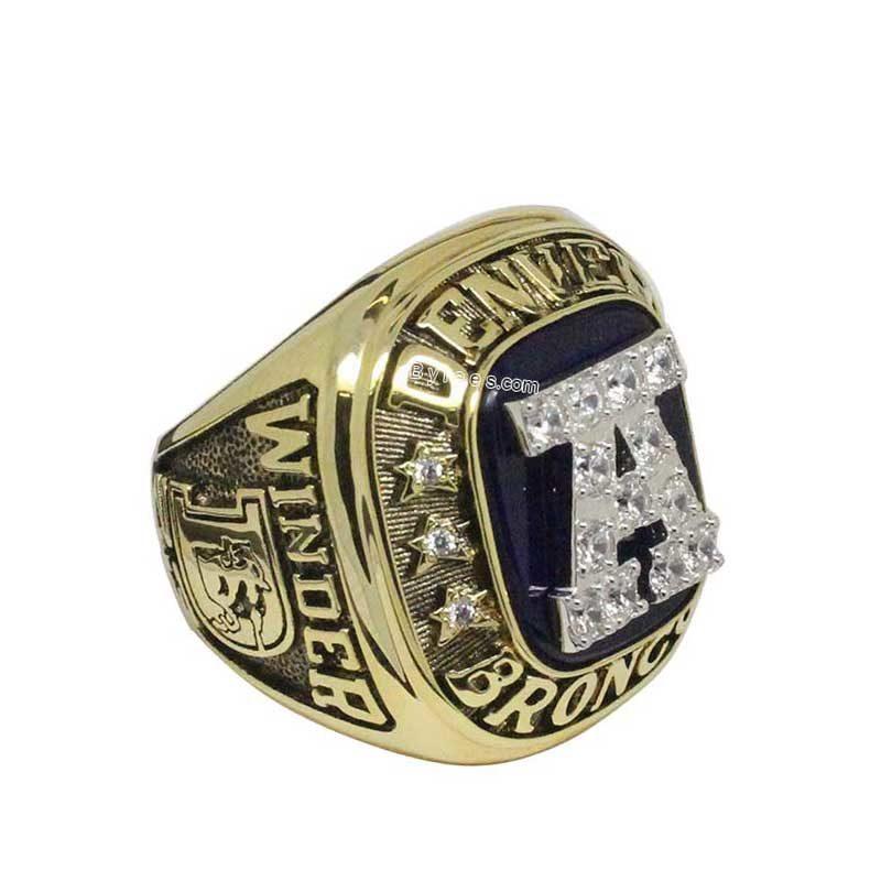 Denver Broncos 1986 afc Championship Ring