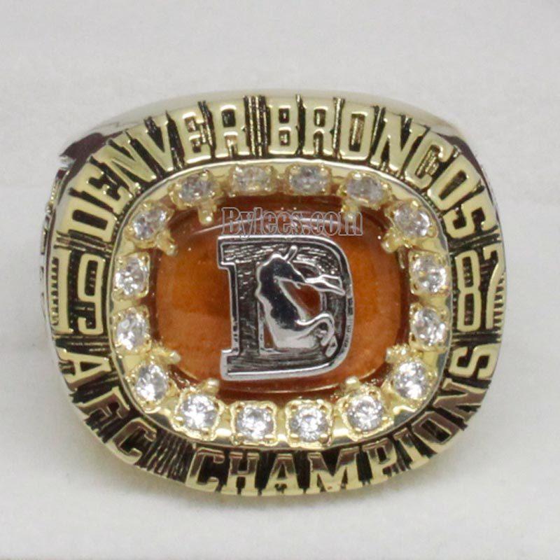 1987 Denver Broncos Championship Ring