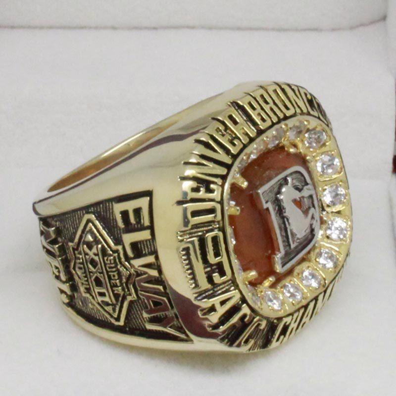1987 Denver Broncos afc Championship Ring