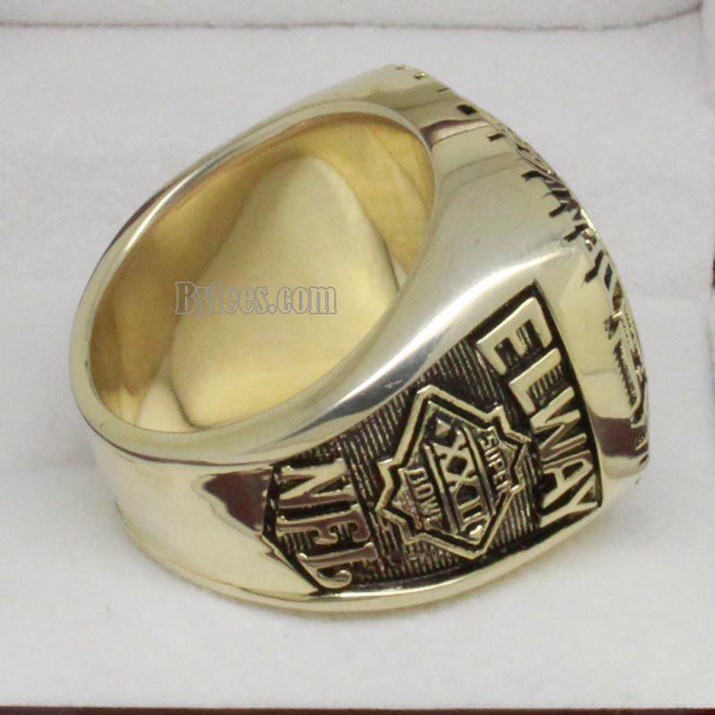 Denver Broncos 1987 Championship Ring