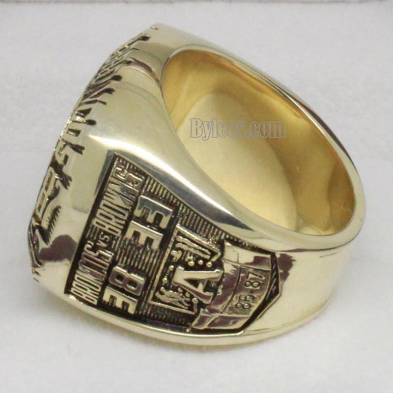 Denver Broncos Championship Ring 1987