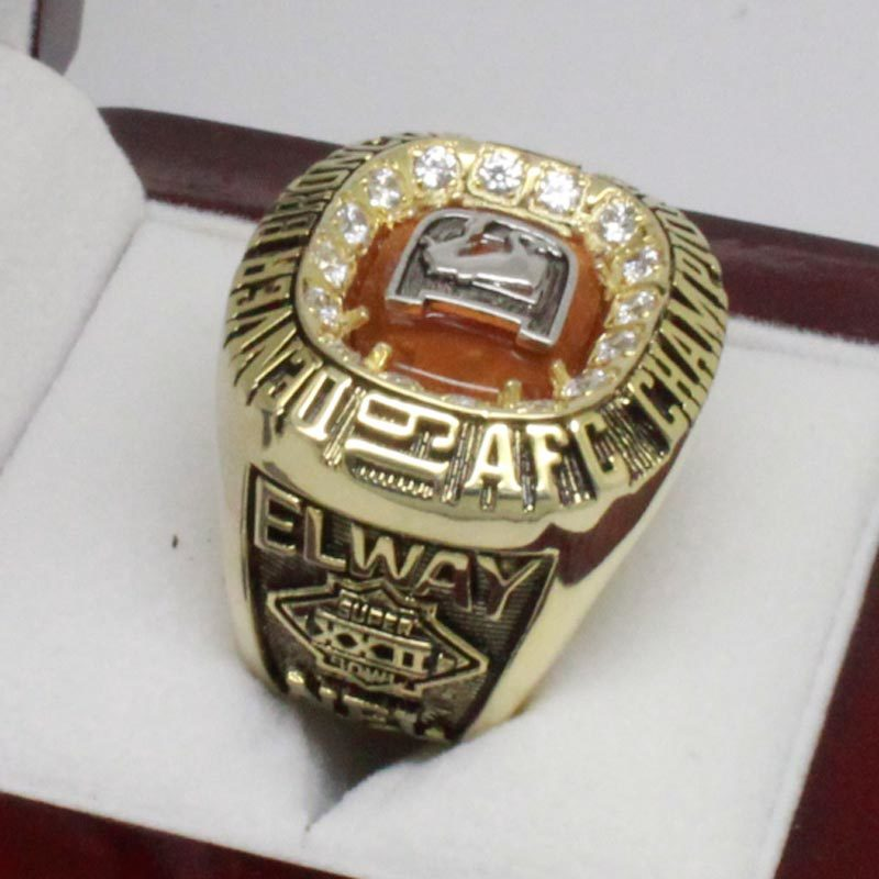 1987 Broncos afc Championship Ring