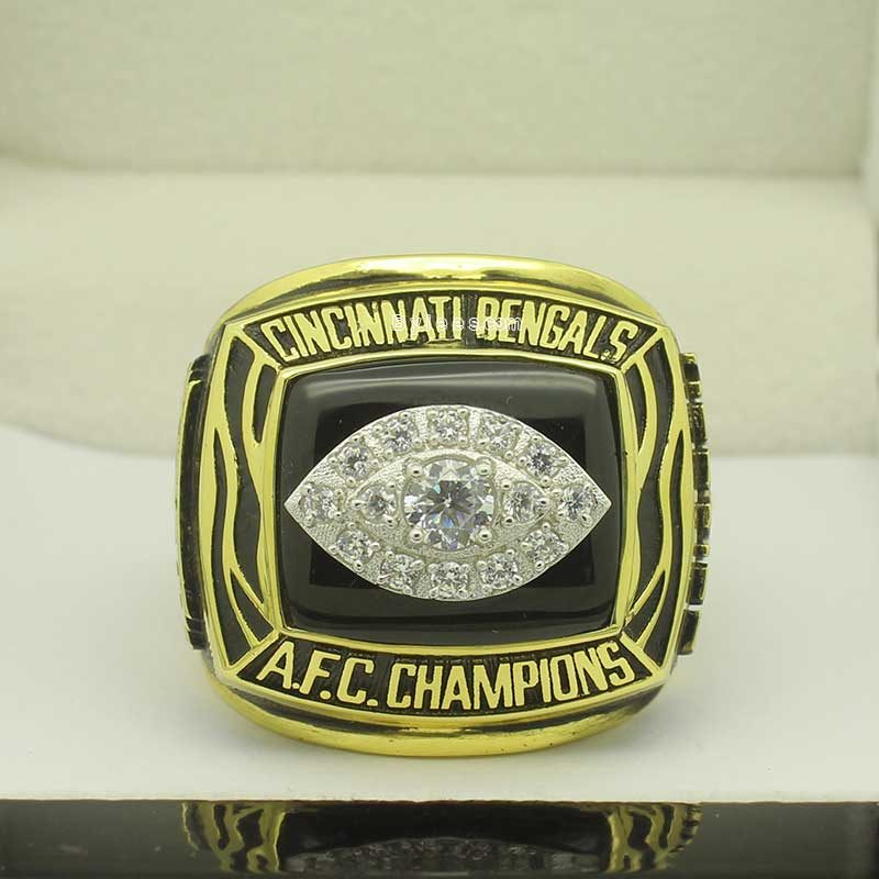 1988 afc championship ring