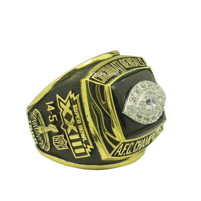 glass football rings enamel with championship ring products grande redbluetrings baron
