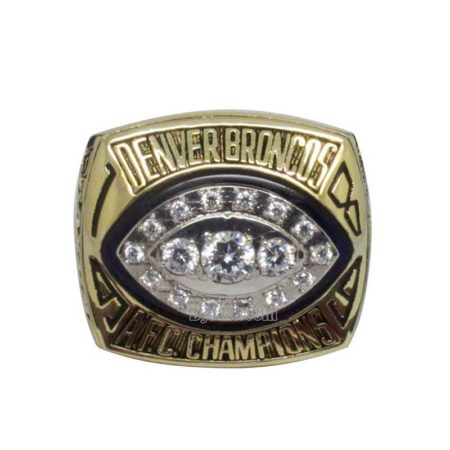 1989 Broncos afc Championship Ring