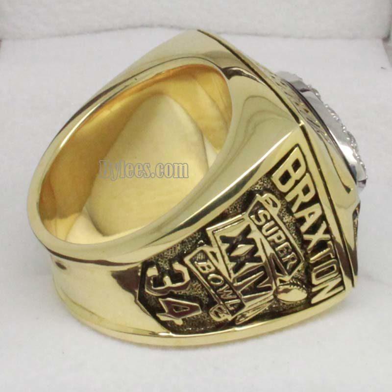 Denver Broncos 1989 Championship Ring