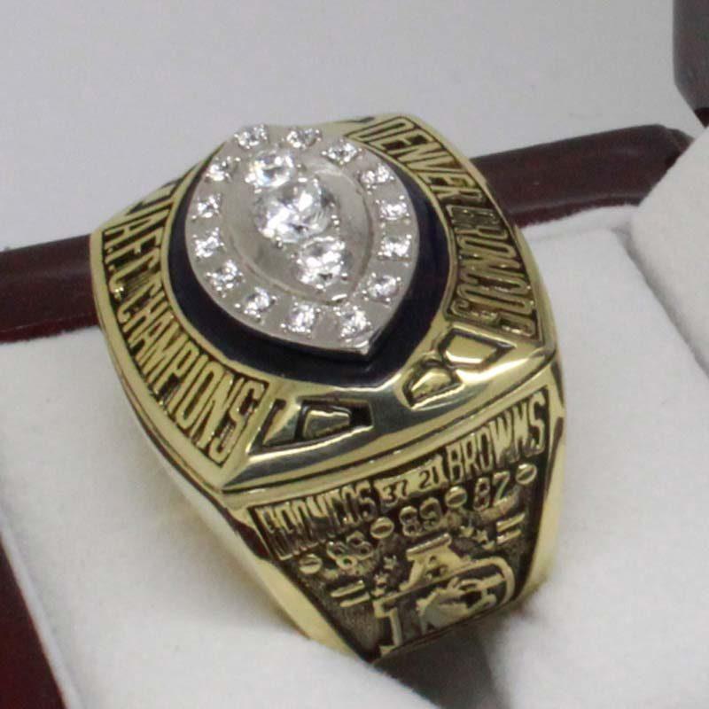 Broncos 1989 Championship Ring