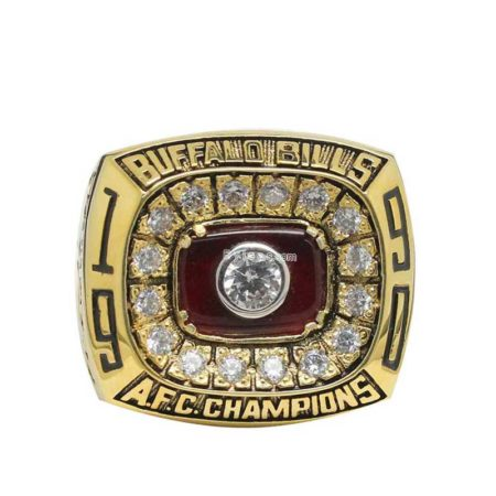 Buffalo Bills 1990 Championship Ring