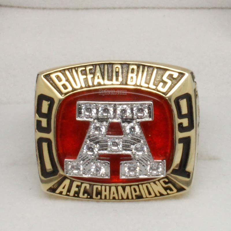 1991 Buffalo Bills Championship Ring