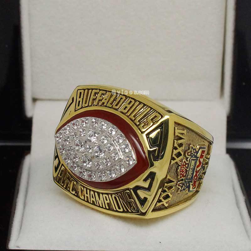 1992 Buffalo Bills Championship Ring