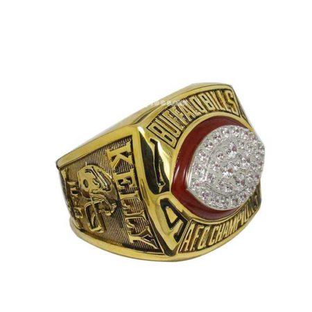 1992 bills afc championship ring