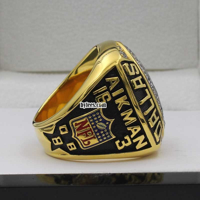 troy aikman ring of 1992 super bowl playoff