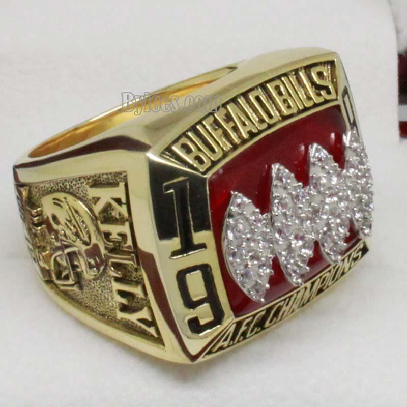 Buffalo Bills Championship Ring 1993