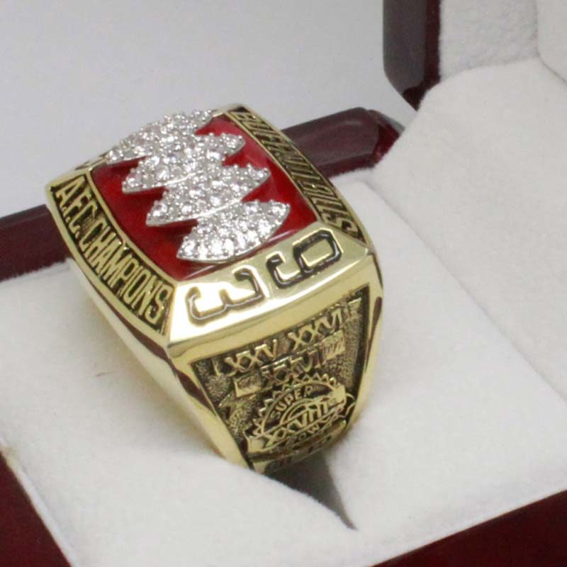 1993 Buffalo Bills American Football Championship Ring