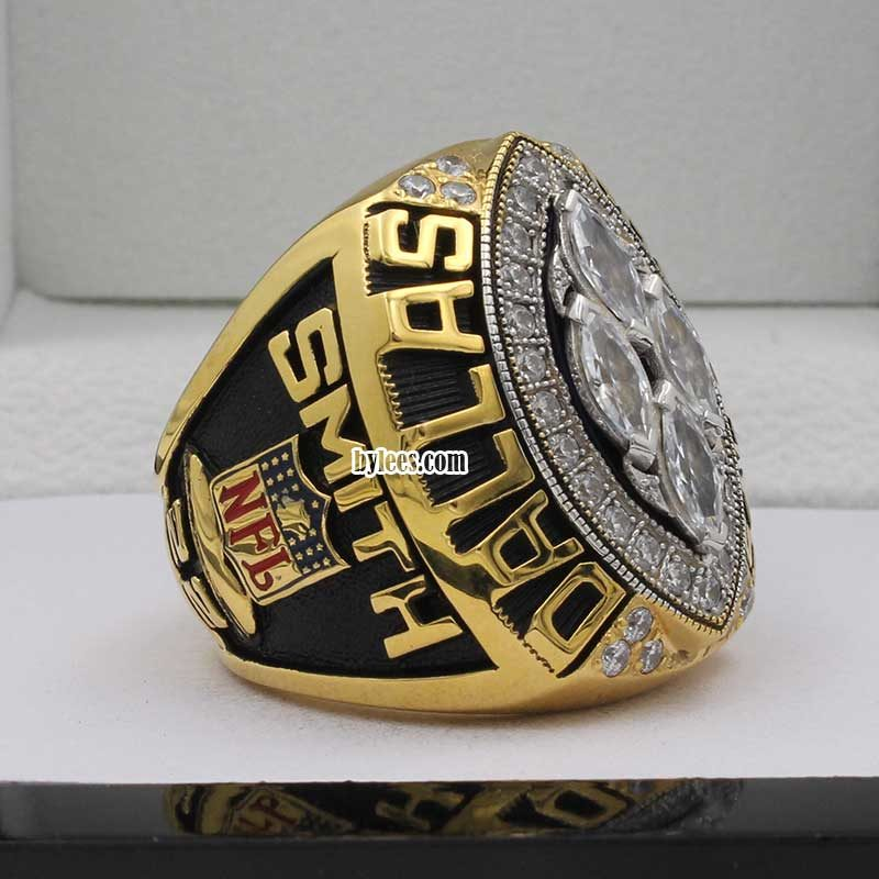emmitt smith rings ( this is his final super bowl ring in dallas cowboys, he was the MVP in this season)