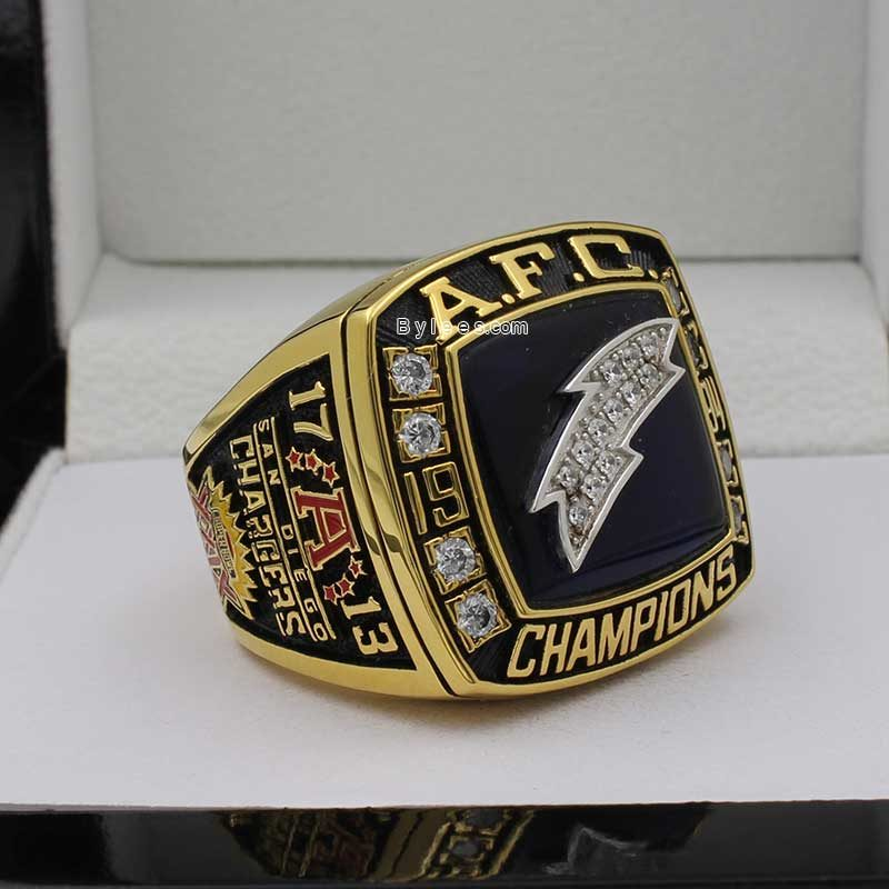 1994 Chargers AFC championship ring