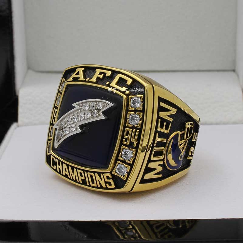 1994 San Diego Chargers championship ring