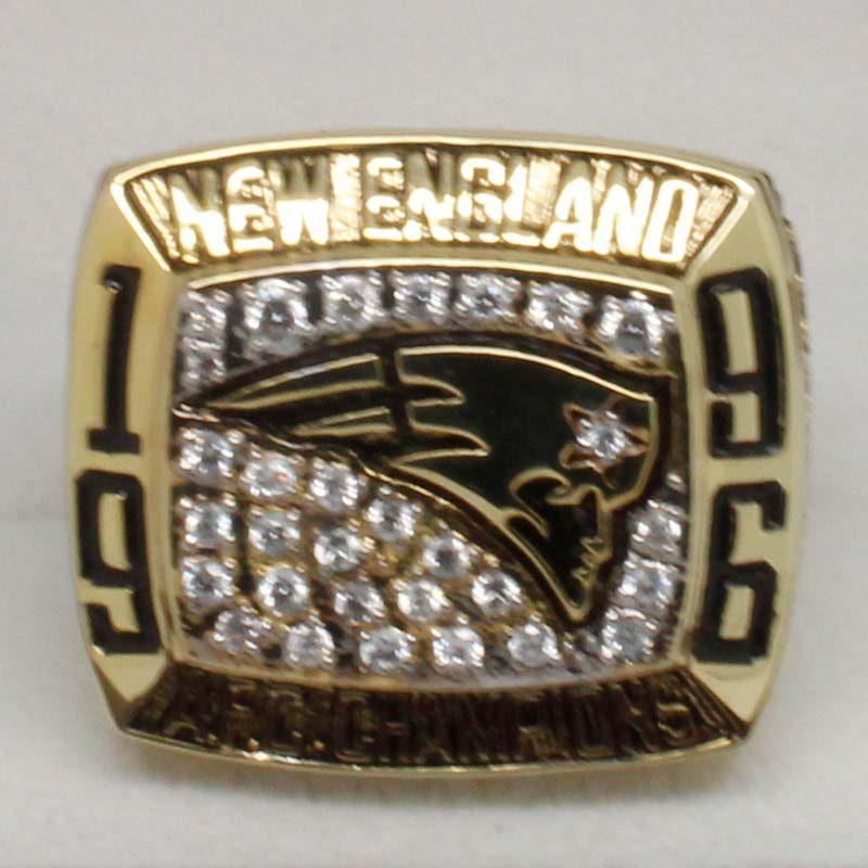 New England Patriots 1996 Championship Ring