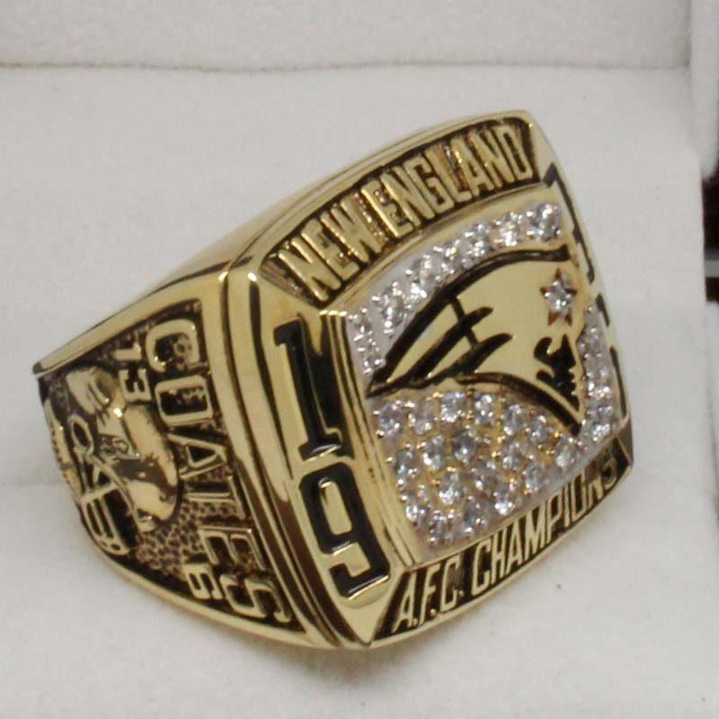 1996 New England Patriots Championship Ring