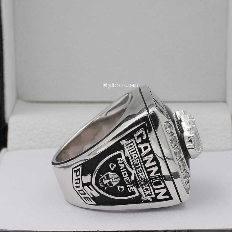 oakland raiders 2002 afc championship ring ring