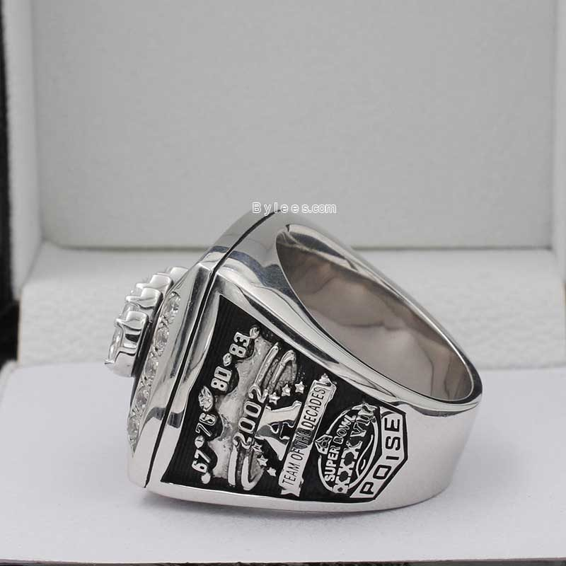 oakland raiders 2002 afc championship ring