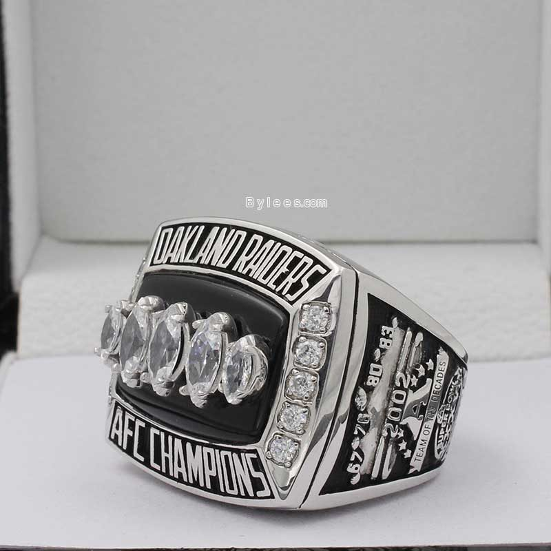 2002 Oakland Raiders Championship Ring