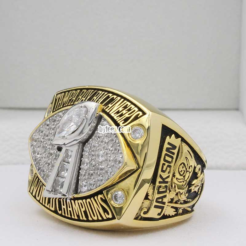 2002 Super Bowl XXXVII Tampa Bay Buccaneers Championship Ring