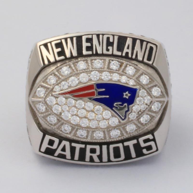 2007 patriots championship ring