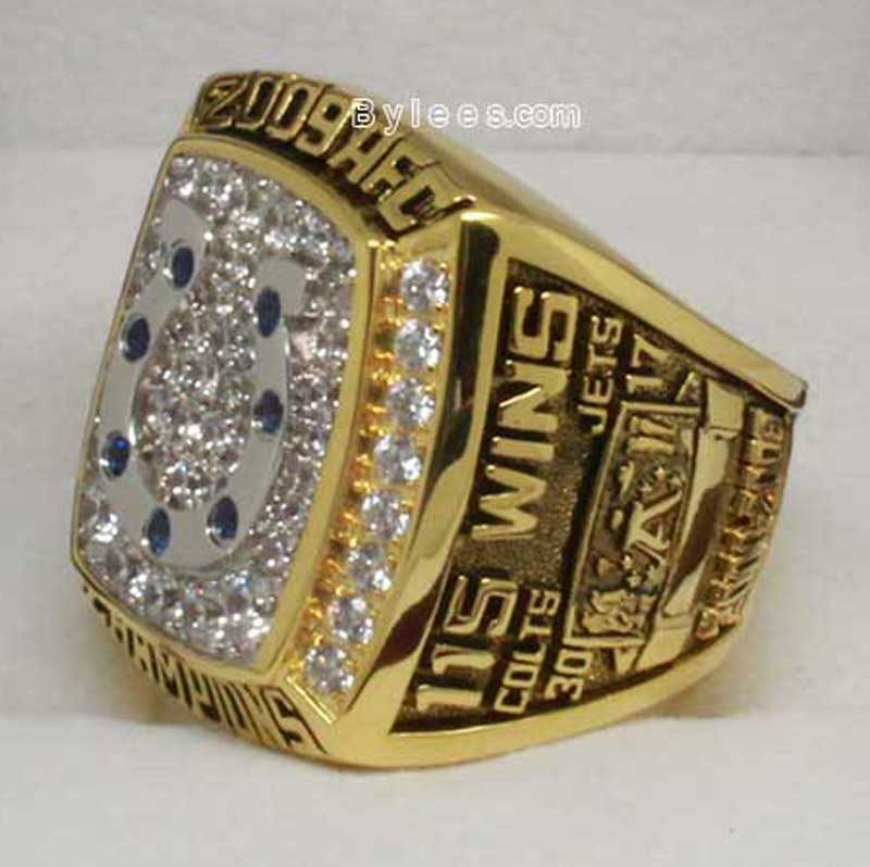 Indianapolis Colts Championship Ring (2009 AFC Champions)