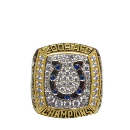 indianapolis colts rings(2009 AFC Champions)